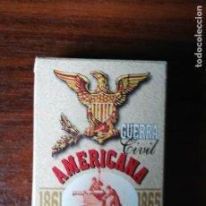 Barajas de cartas: BARAJA POKER GUERRA CIVIL AMERICANA. 1861-1865. HERACLIO FOURNIER. Lote 207931052