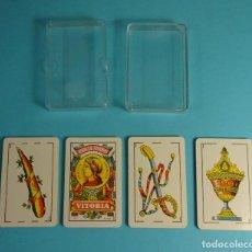 Barajas de cartas: BARAJA ESPAÑOLA 40 CARTAS CON ESTUCHE. HERACLIO FOURNIER. CON PUBLICIDAD IRB. Lote 207968837