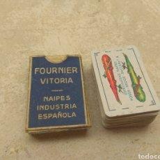 Barajas de cartas: LOTE BARAJA DE CARTAS NAIPES LILIPUT FOURNIER - VITORIA -. Lote 208012646