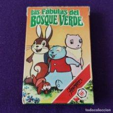 Jeux de cartes: BARAJA INFANTIL FOURNIER. LAS FABULAS DEL BOSQUE VERDE. COMPLETA. 32 CARTAS. AÑO 1983. Lote 208059938
