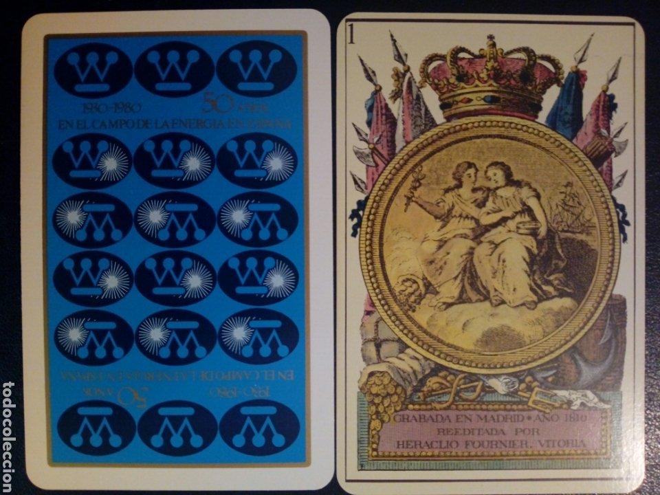 Barajas de cartas: Baraja HERACLIO FOURNIER - 50 años de Westinghouse en España (1980) - Publicitaria - Neoclásica - - Foto 3 - 208073742