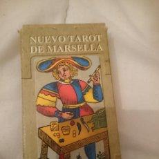 Barajas de cartas: BARAJA CARTAS - NUEVO TAROT DE MARSELLA. Lote 208112196