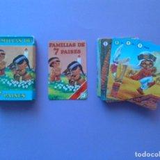 Barajas de cartas: BARAJA FAMILIA 7 PAISES - ORIGINAL AÑO 1979 FOURNIER - ERICTOYS. Lote 208137043