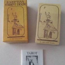 Baralhos de cartas: BARAJA TAROT EGIPCIO, EGYPTIAN TAROT DECK 1980, U.S. GAMES SYSTEMS. NUEVO SIN ESTRENAR.. Lote 208209766