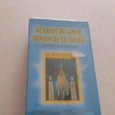 Mazzi di carte: BARAJA EL TAROT DE LOS 72 GENIOS DE LA CÁBALA. ROSSANA LARA. NAIPES COMAS 1999. PRECINTADO.. Lote 208486003
