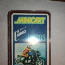 Barajas de cartas: BARAJA CARTAS COMAS 5X7 COMPLETA. Lote 208487298