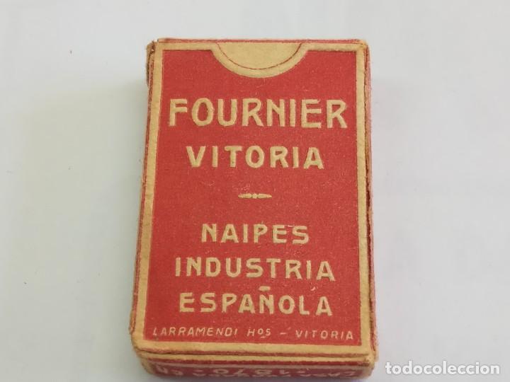 Barajas de cartas: BARAJA ANTIGUAS DE MINIATURA LILIPUT DE HERACLIO FOURNIER, COMPLETA COLOR ROJO - Foto 6 - 208761412