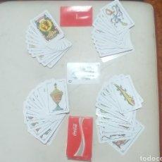 Barajas de cartas: BARAJA DE CARTAS ESPAÑO DE COCA-COLA NUEVA. Lote 208770830