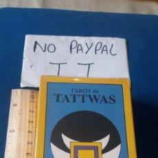 Jeux de cartes: TAROT TATTWAS J. P PORTELA TAROT DE LAS FIGURAS GEOMÉTRICAS SAGRADAS NEGSA PRECINTADO A ESTRENAR. Lote 208910416
