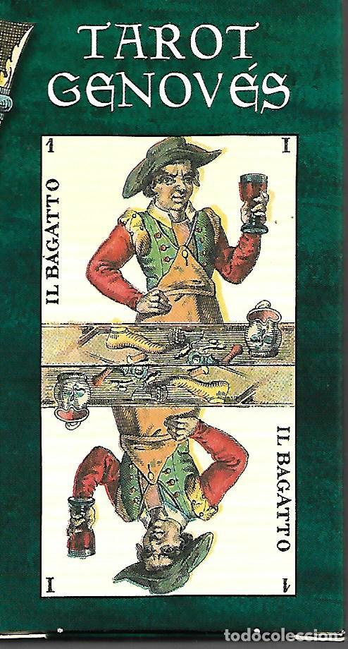 Barajas de cartas: BARAJA DE TAROT GENOVES COMPLETA SIN ESTRENAR EN SU CAJA - Foto 2 - 208941535
