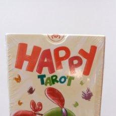 Barajas de cartas: HAPPY TAROT.LO SCARABEO.. Lote 209310746