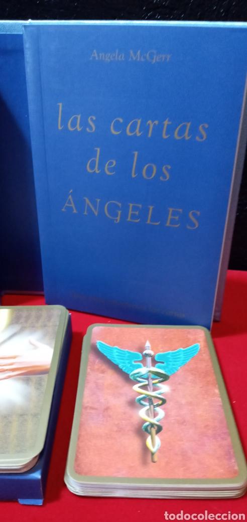 Barajas de cartas: MUY DIFÍCIL.LAS CARTAS DE LOS ÁNGELES. TIKAL.DESCATALOGADO. - Foto 3 - 209754972