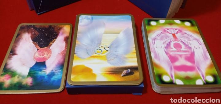 Barajas de cartas: MUY DIFÍCIL.LAS CARTAS DE LOS ÁNGELES. TIKAL.DESCATALOGADO. - Foto 5 - 209754972