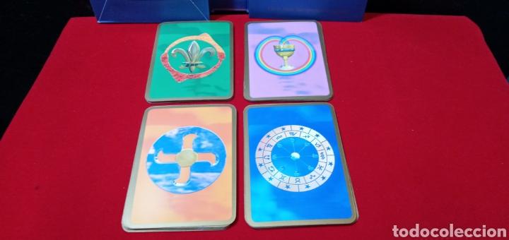 Barajas de cartas: MUY DIFÍCIL.LAS CARTAS DE LOS ÁNGELES. TIKAL.DESCATALOGADO. - Foto 8 - 209754972