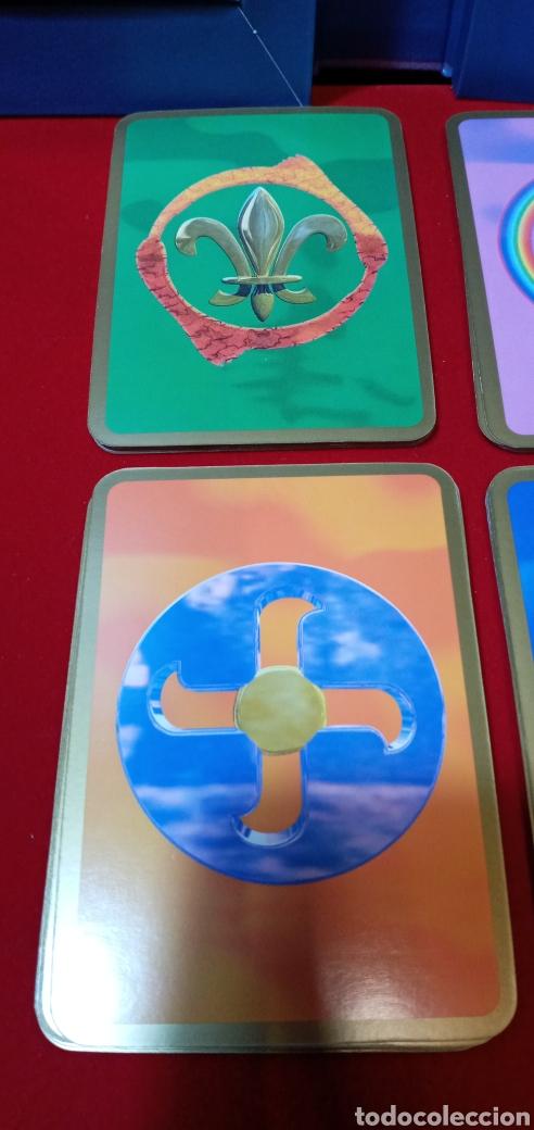 Barajas de cartas: MUY DIFÍCIL.LAS CARTAS DE LOS ÁNGELES. TIKAL.DESCATALOGADO. - Foto 10 - 209754972