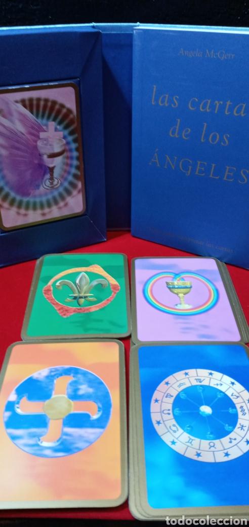 Barajas de cartas: MUY DIFÍCIL.LAS CARTAS DE LOS ÁNGELES. TIKAL.DESCATALOGADO. - Foto 11 - 209754972