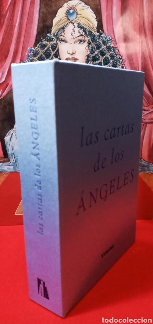 Barajas de cartas: MUY DIFÍCIL.LAS CARTAS DE LOS ÁNGELES. TIKAL.DESCATALOGADO. - Foto 12 - 209754972