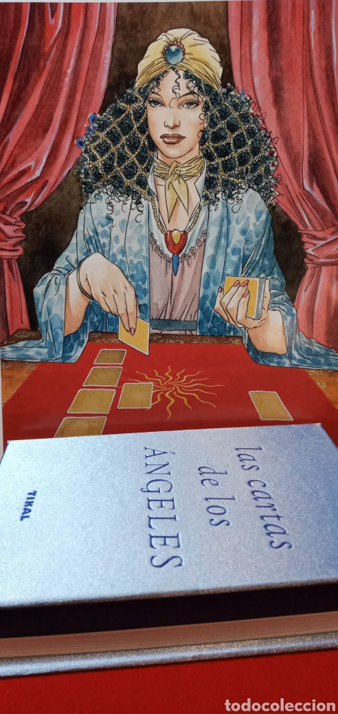 Barajas de cartas: MUY DIFÍCIL.LAS CARTAS DE LOS ÁNGELES. TIKAL.DESCATALOGADO. - Foto 14 - 209754972