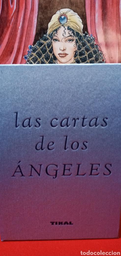 Barajas de cartas: MUY DIFÍCIL.LAS CARTAS DE LOS ÁNGELES. TIKAL.DESCATALOGADO. - Foto 15 - 209754972