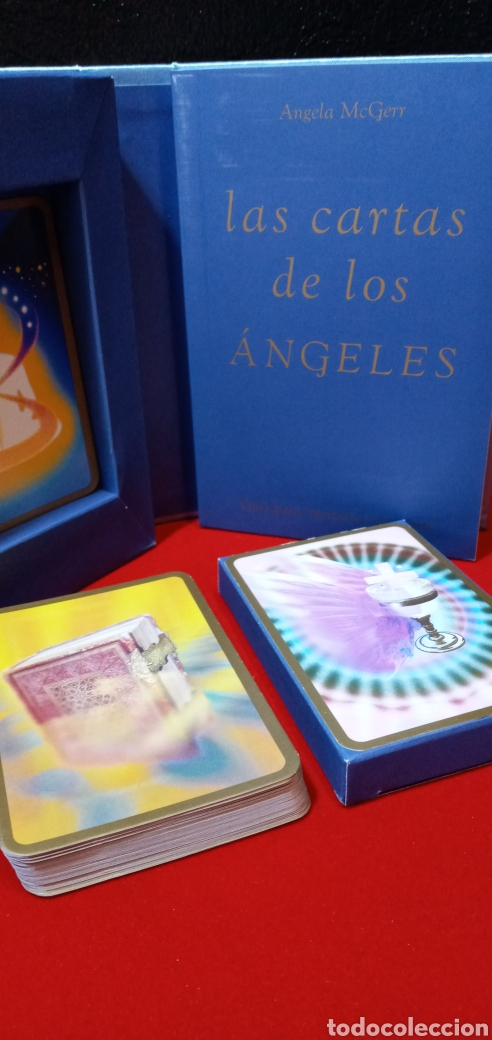 MUY DIFÍCIL.LAS CARTAS DE LOS ÁNGELES. TIKAL.DESCATALOGADO. (Juguetes y Juegos - Cartas y Naipes - Barajas Tarot)