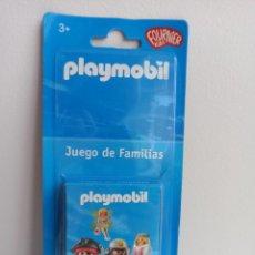 Jeux de cartes: BARAJA DE CARTAS INFANTIL PLAYMOBIL LAS FAMILIAS. Lote 209799400
