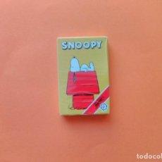 Barajas de cartas: BARAJA SNOOPY - FOURNIER PRECINTADA, LEER DETALLE!!! - ERICTOYS. Lote 209844301