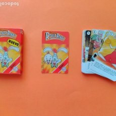 Jeux de cartes: BARAJA ROGER RABBIT - A ESTRENAR - FOURNIER AÑO 1987 - ERICTOYS. Lote 209844732