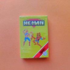 Barajas de cartas: BARAJA HEMAN HE-MAN - FOURNIER AÑO 1991 - PRECINTADA - ERICTOYS. Lote 209846861