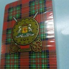 Barajas de cartas: BARAJA DE CARTAS DE PÓKER. ESCOCIA SCOTLAND. STEWART NUEVAS COB PRECINTO UNICAS EN TC.. Lote 210158756