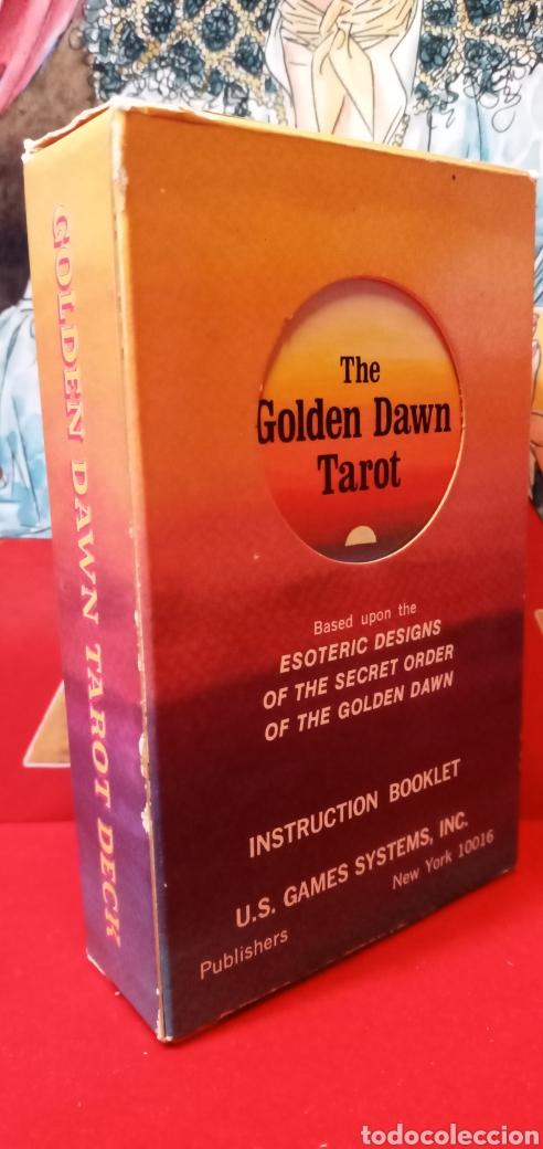 Barajas de cartas: VINTAGE THE GOLDEN DAWN TAROT. - Foto 2 - 210175068