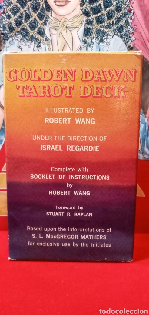Barajas de cartas: VINTAGE THE GOLDEN DAWN TAROT. - Foto 3 - 210175068