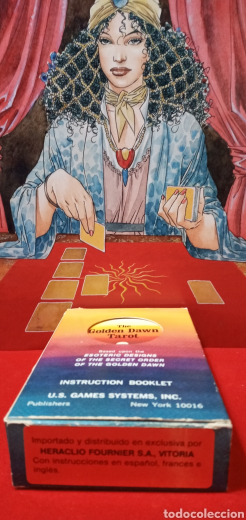 Barajas de cartas: VINTAGE THE GOLDEN DAWN TAROT. - Foto 4 - 210175068