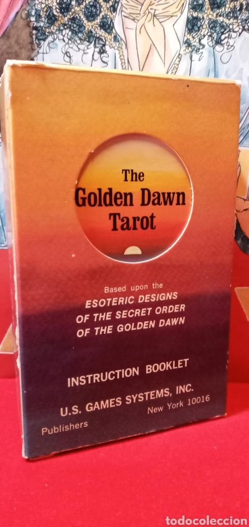 VINTAGE THE GOLDEN DAWN TAROT. (Juguetes y Juegos - Cartas y Naipes - Barajas Tarot)