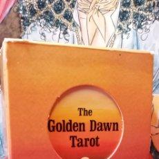 Barajas de cartas: VINTAGE THE GOLDEN DAWN TAROT.. Lote 210175068