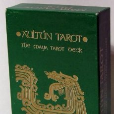 Barajas de cartas: XULTÚN TAROT , THE MAYA TAROT DECK. ARCANA PUBLISHING CO. 1991. Lote 210234656