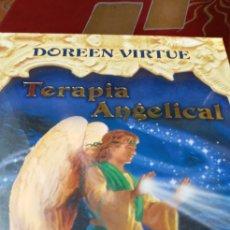 Barajas de cartas: TERAPIA ANGELICAL.DOREEN VIRTUE.DESCATALOGADO.CARTAS PRECIOSAS.. Lote 210236502