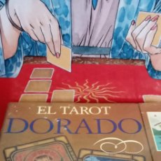 Barajas de cartas: EL TAROT DORADO.LIZ DEAN.DESCATALOGADO.COLECCIONISTAS.. Lote 210284566