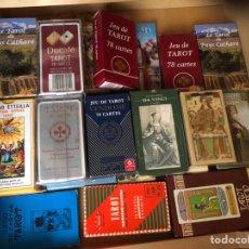Baralhos de cartas: LOTE 23 CARTAS TAROT NUEVAS EN SUS CAJAS. Lote 210333690
