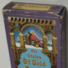Barajas de cartas: THE STAIRS OF GOLD TAROT BY TAVAGLIONE. 78 CARD DECK IN FULL COLOR. CON CAJA ORIGINAL.. Lote 210361113