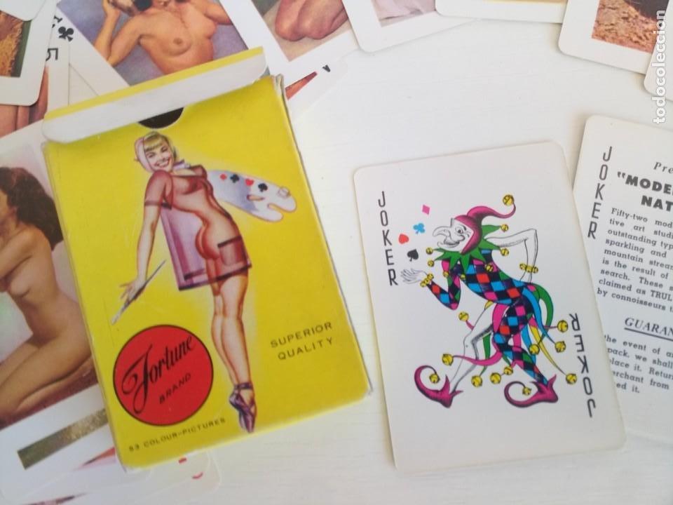 BARAJA POKER CARTAS ERÓTICAS AÑOS 60 FORTUNE BRAND PLAYING CARDS (Juguetes y Juegos - Cartas y Naipes - Barajas de Póker)