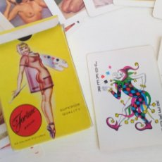 Barajas de cartas: BARAJA POKER CARTAS ERÓTICAS AÑOS 60 FORTUNE BRAND PLAYING CARDS. Lote 210377486