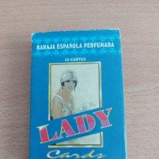 Barajas de cartas: BARAJA ESPAÑOLA PERFUMADA LADY CARDS 50 CARTAS NAIPES H FOURNIER. Lote 210387838