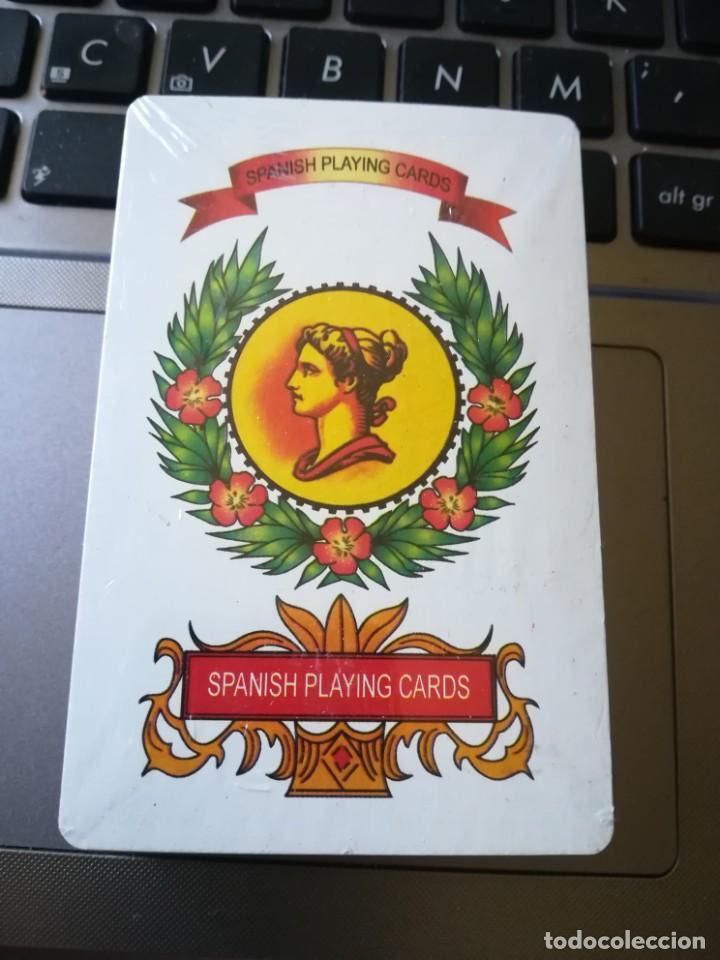 BARAJA NAIPE ESPAÑOL PARA INGLATERRA. PRECINTADA (Juguetes y Juegos - Cartas y Naipes - Baraja Española)