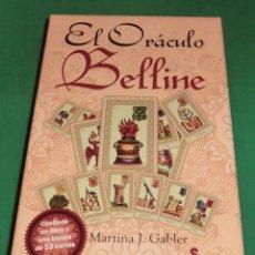 Baralhos de cartas: EL ORÁCULO BELLINE - MARTINA J. GABLER (IMPECABLE: BARAJA+LIBRO+CAJA) DE COLECCIONISTA. Lote 210432986