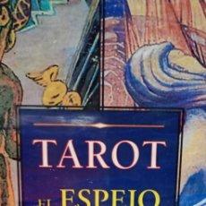 Jeux de cartes: TAROT EL ESPEJO DEL ALMA.ALEISTER CROWLEY.ARCANO BOOKS.ESTUCHE LIBRO 217P.+78 CARTAS. Lote 210539696