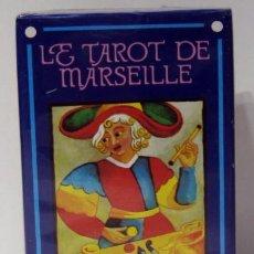 Barajas de cartas: LE TAROT DE MARSEILLE, FOURNIER . PRECINTADO. 1992. Lote 210681981