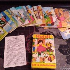 Barajas de cartas: HEIDI CARTAS FOURNIER 1975 BARAJA DE 32 CARTAS LOTE 2. Lote 210685695
