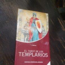Barajas de cartas: EL TAROT DE LOS TEMPLARIOS. SIGNIFICADO, INTERPRETACIÓN, ADIVINACIÓN. MAYORCA, S. DE VECCHI. 2008. Lote 210722007