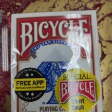 Barajas de cartas: BARAJA BICYCLE SHORT DECK. Lote 210740136