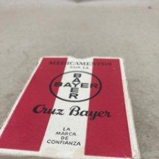 Barajas de cartas: BARAJA DE PÓKER DE BAYER NAIPES COMA AÑOS 30. Lote 210745007